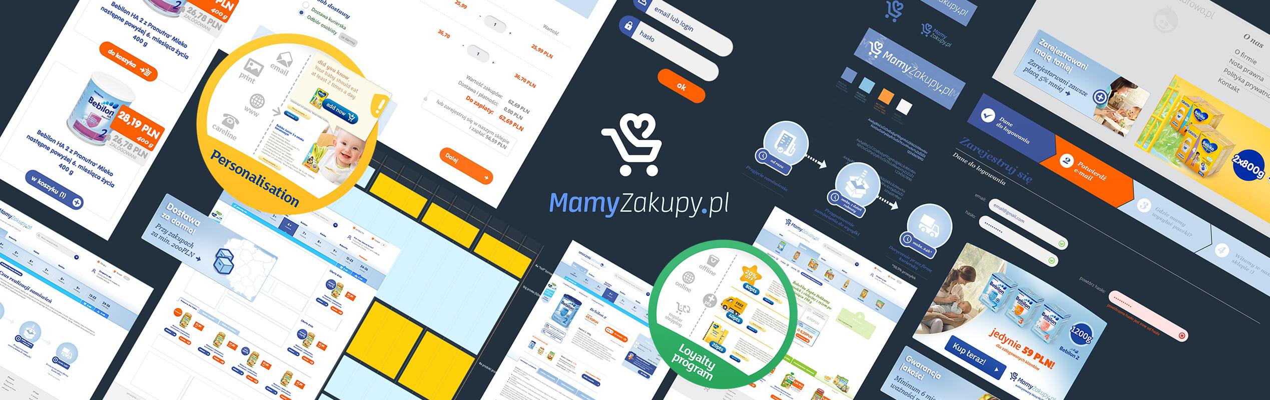 Mamyzakupy e-commerce platform